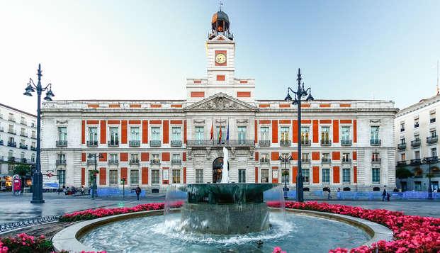 """Escapada con cena en el restaurante """"La Carmela"""" en hotel situado al lado de la Puerta del Sol"""