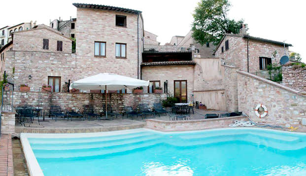 Weekend di relax in Umbria con cena e spa inclusa