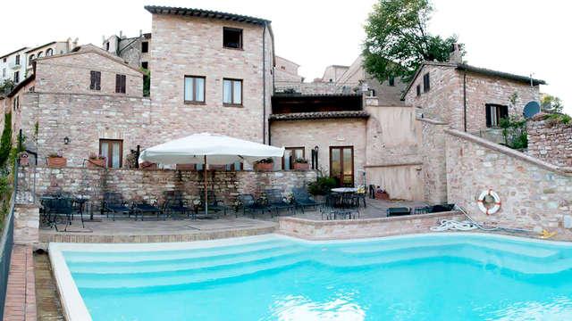Weekend di relax in Umbria con cena e spa inclusa
