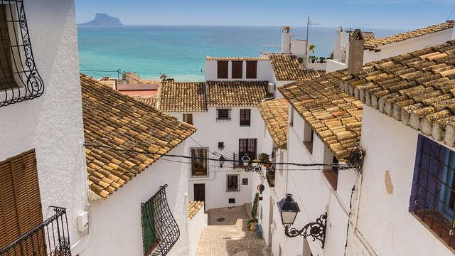 Encanto en la pintoresca Altea, el Santorini español