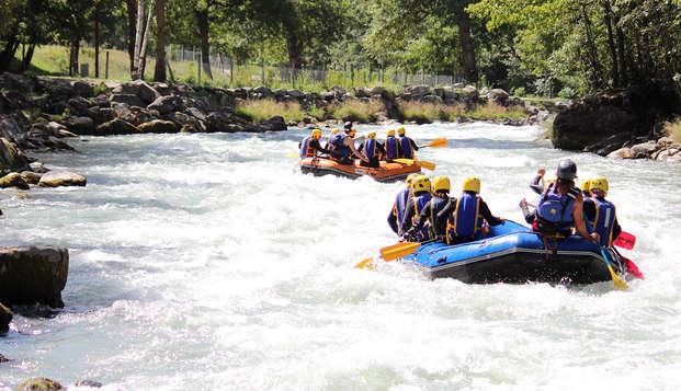 Rafting en avontuur in Valmorel (met toegang tot spa)