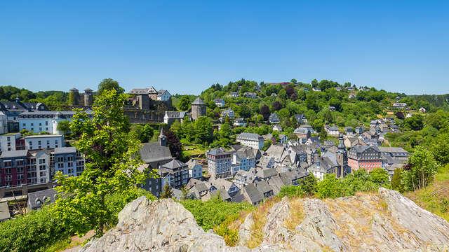 Gastronomía y bienestar en el famoso pueblo de Monschau