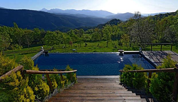 Naturaleza, relax y desasiego en un precioso hotel rural en La Vall de Bianya