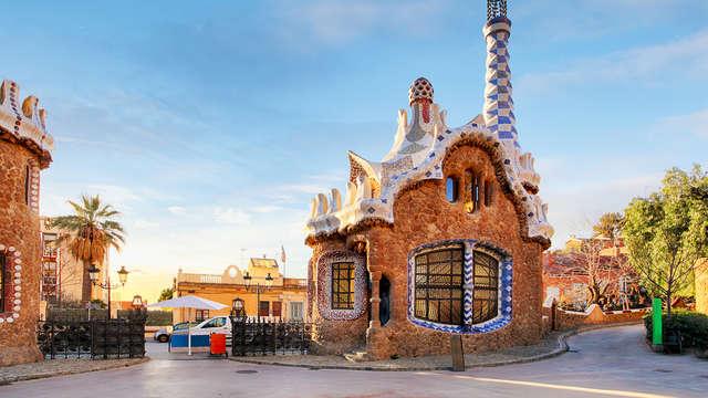 Disfruta de Barcelona con esta escapada que incluye visita al Parque Güell