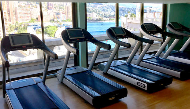 Fairmont Monte Carlo - NEW GYM