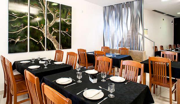 Escapada con cena y salida tardía en un acogedor hotel de Fátima