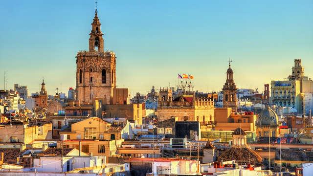 Escapa de la rutina en un exclusivo 5* en el corazón de Valencia