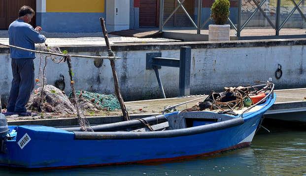 Escapada con ovos moles y visita a los víveros con degustación de ostras en Aveiro