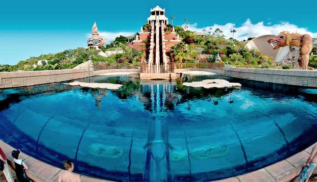 Desconecta en Canarias con tu familia y entradas al Siam Park de Tenerife incluidas