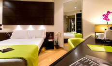 1 notte in camera doppia confort vista città per 2 adulti