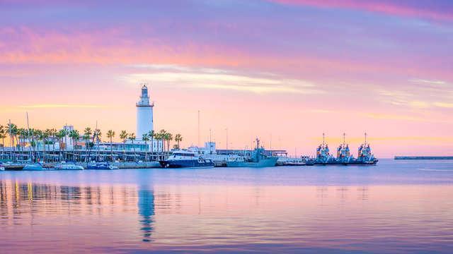 Disfruta de la soleada Málaga en un precioso hotel boutique