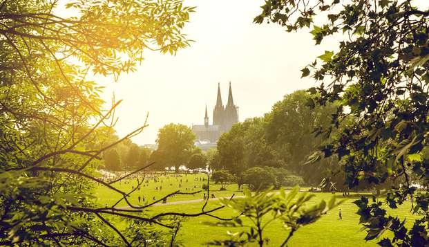 Kom helemaal tot rust in het prachtige Keulen