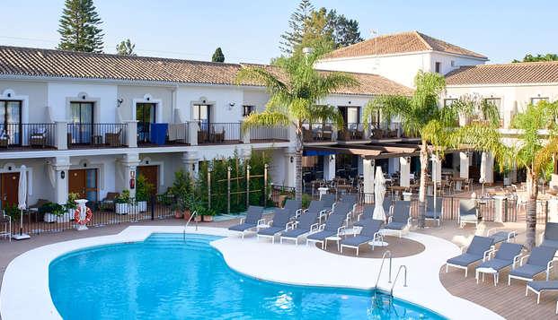 Desconexión en un precioso hotel en la glamourosa Marbella