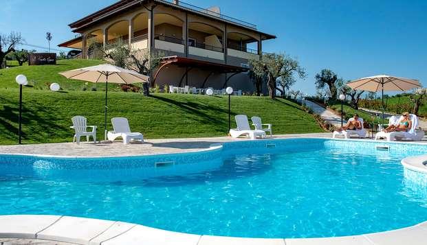 Soggiorno romantico in Suite con accesso alla spa nel verde dell'Abruzzo