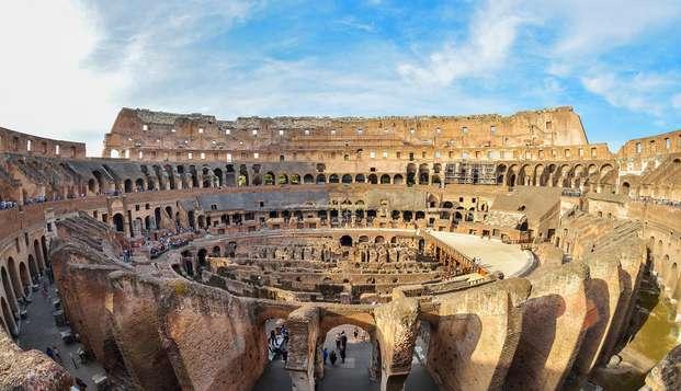 Vacanza culturale a Roma con accesso al Colosseo incluso!