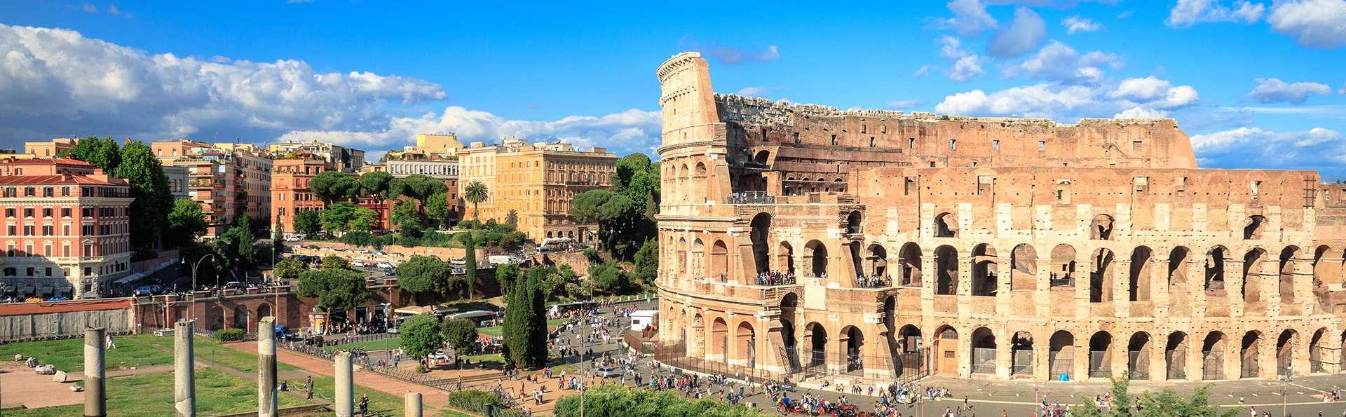 Nuit au centre de Rome et billets pour le Colisée : un must pour toute visite de la capitale !
