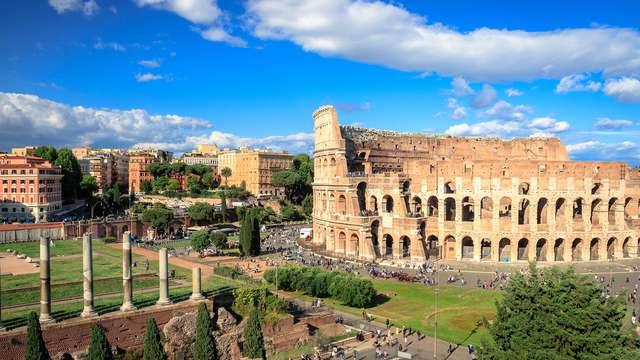 Notte al centro di Roma e biglietti per il Colosseo: weekend imperdibile nella Capitale!