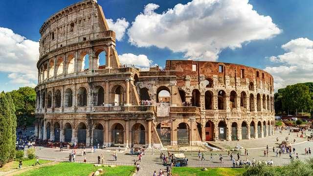 Roma e Colosseo: soggiorno in villa romana e biglietto per il più grande anfiteatro del mondo