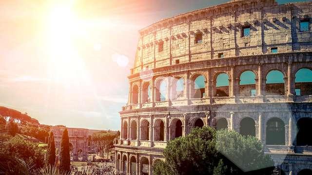 Visitez le Colisée et dormez au centre de Rome : week-end de culture et de charme dans la capitale !