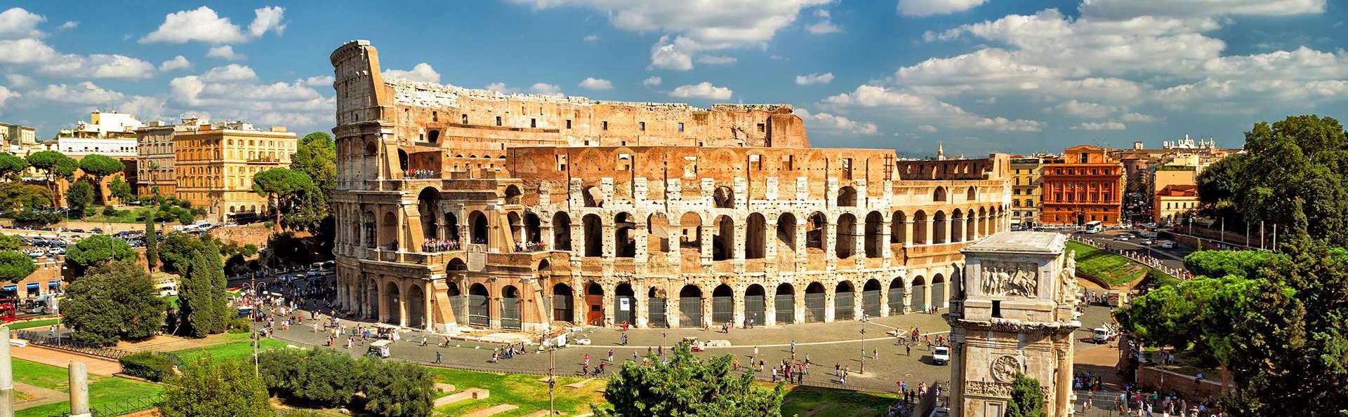 ¡Visita el Coliseo! Noche a las puertas de Roma y entrada para el Anfiteatro Flavia