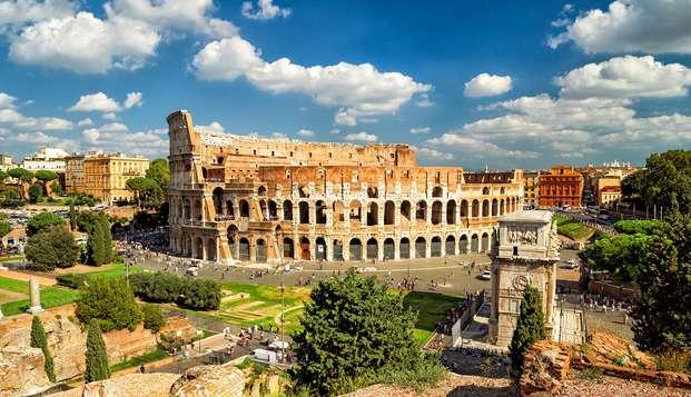Visita il Colosseo! Notte alle porte di Roma e biglietto incluso per l'Anfiteatro Flavio