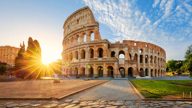Découvrez Rome avec accès au Colisée