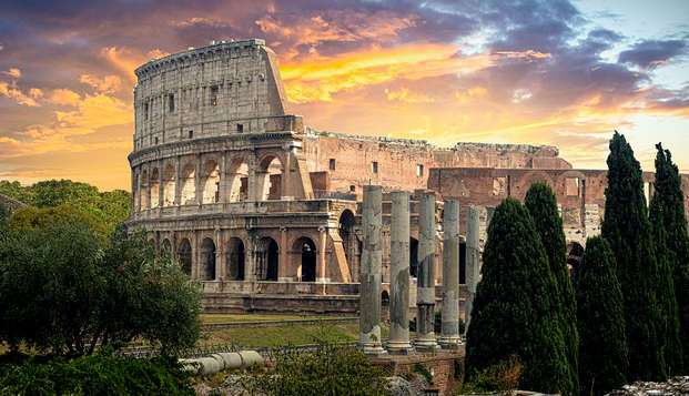 Alla scoperta della città Eterna: soggiorno in un lussuoso palazzo ed entrata al Colosseo!