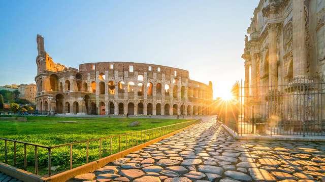 Détente et Colisée : visitez l'amphithéâtre Flavien et dormez dans la nature aux portes de Rome !