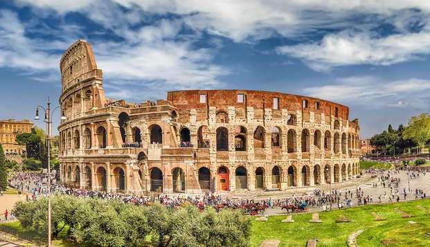 Vacanza a Roma con visita al Colosseo in elegante hotel 4* superior