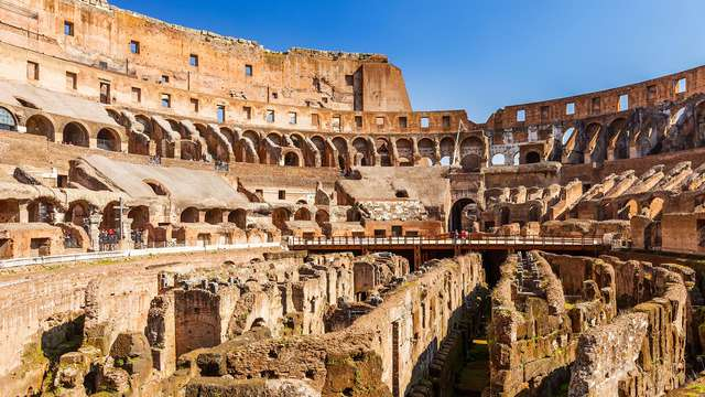 Il Colosseo come non lo avete mai visto!