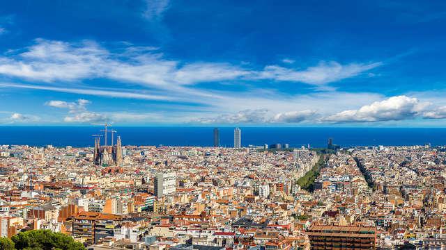 Apartamento con cena a escoger en pleno centro de Barcelona