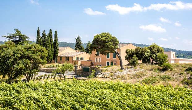 Séjour romantique au cœur d'un domaine viticole