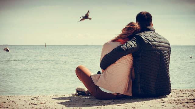 Ontspannend en romantisch verblijf aan het strand van Scheveningen
