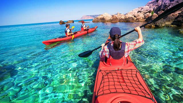 Escapada con excursión en Kayak por el Algarve y acceso al Spa