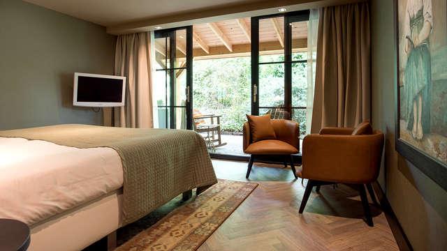 Luxe en comfort in Apeldoorn inclusief massage en diner