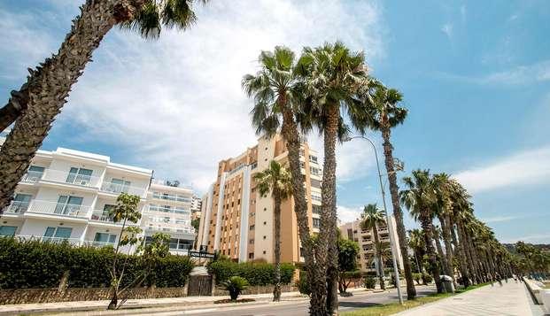 Disfruta de la costa en el corazón de Málaga