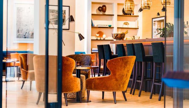 Ontspannend weekendje Antwerpen in een 4 sterren design hotel