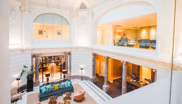 Verken Antwerpen en verblijf in prachtig design hotel