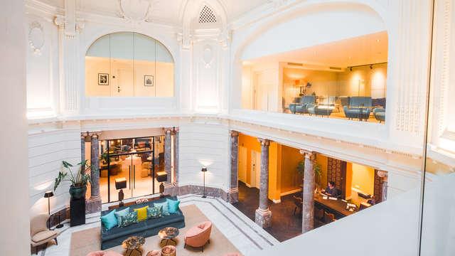 Explorez Anvers et séjournez dans un magnifique hôtel design