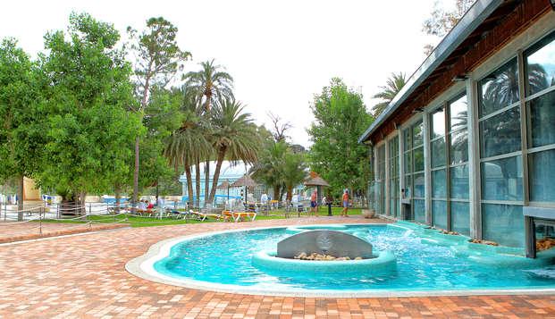 Descubre los encantos del Balneario de Archena con Media pensión y acceso a las Piscinas Termales