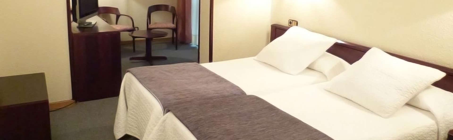 Alojamiento y desayuno en un bonito hotel en Escaldes (Andorra)