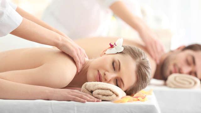 1 masaje para 2 adultos
