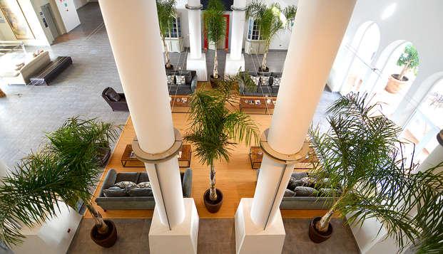 5 * luxe met diner, toegang tot de spa en superior kamer in Andalusië