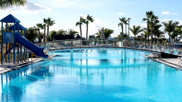Desconexión con encanto en un resort en Lanzarote