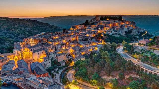 Encanto siciliano entre el centro histórico de Ragusa y el mar Mediterráneo