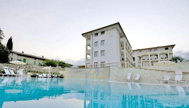 Weekend relax in camera Prestige sul lago di Garda in hotel 4*