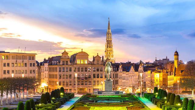 Ontdek het kosmopolitische Brussel en verblijf in een studio deluxe
