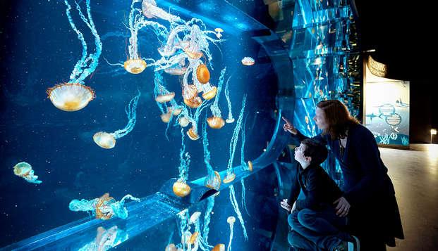 Week-end découverte avec entrées à l'Aquarium Nausicaa