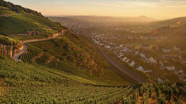 Passez un moment dans la ville thermale de Bad Neuenahr dans une vallée viticole allemande