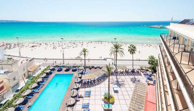 Alojamiento y desayuno en un precioso hotel en Mallorca